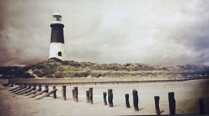 Lovely Lighthouse Canvas Print (Large)