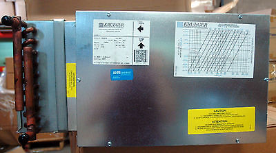 Krueger B016 Lmhs Single Duct Terminal Unit 10-10 Whot Water Heat W23 Vav 10