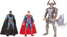 Justice League Battle in a Box Batman, Steppenwolf, Superman 3 Pack Figures