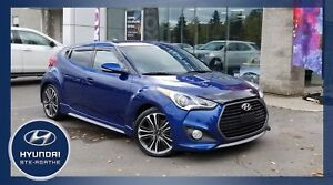 2016 Hyundai Veloster Turbo+BAS KM+TOIT PAN.+CUIR+NAV