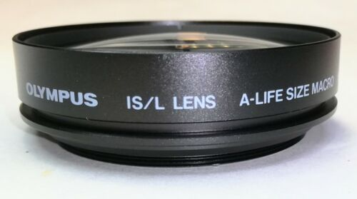 Near Mint Olympus IS/Lens A-Life-Size Macro H.Q. Converter F=13cm From Japan #1