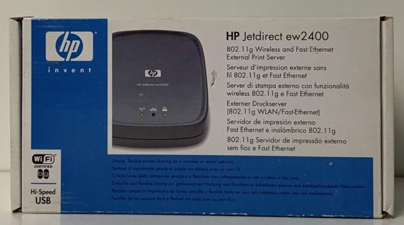 HP New - J7951G EW2400 Wireless Print Server  Free Shipping