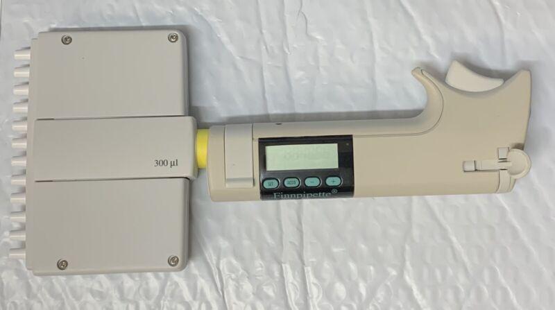 Thermo LabSystems FinnPipette 300ul Digital 12 Channel Pipette 300 ul