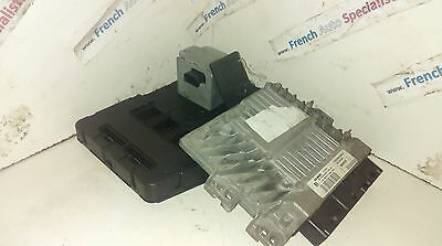 RENAULT SCENIC  MEGANE II 15 DCI 106HP ECU SET BSI UCH KIT STEERING LOCK KEY