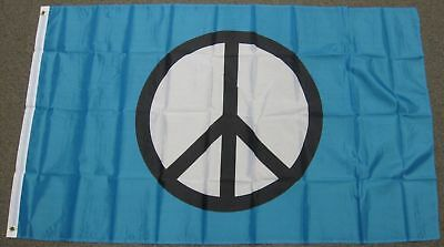3X5 PEACE SIGN FLAG WORLD USA NEW BANNER LOVE F158 - World Flag