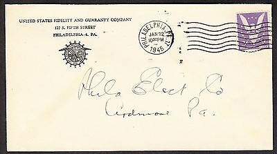 United States Fdelty   Guaranty Company Insurance Advertising Cover   633
