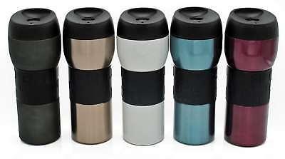 Edelstahl Thermobecher auslaufsicher 420 ml Isolierbecher Kaffee-Becher to go (Edelstahl Isolier-becher)