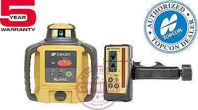 Topcon Rl-h4c Rb Ls-100d Self-leveling Rotary Grade Laser Leveltransit