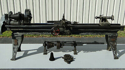 South Bend 40-g 16 In. Screw Cutting Engine Lathe 10 Ft. Bed 1919 Sn 21349