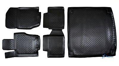 Exklusiv 3D 5-tlg SET Gummimatten + Kofferraumwanne Mercedes M-Klasse W164 06-12