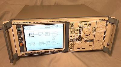Rohde Schwarz Amu 200a Baseband Signal Gen. Fading Simulator Opts