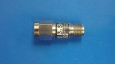Weinschel 3.5db Fixed Attenuator Dc-12.4ghz 2w Model 9782-3.5 Sma