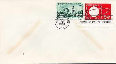 US FDC 1244,U546 WORLD'S FAIR, STOCK 1419