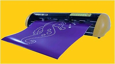 24 Vinyl Cutter Gcc Expert Lx Ii Lettering 2018 Pro Software Extra