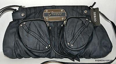 GUESS Regan Crossbody Black Bag Purse Handbag Sac Bolsa NWT MSRP$115.00 comprar usado  Enviando para Brazil