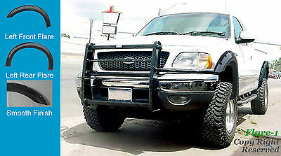 FENDER FLARES POCKET RIVET Style 97-03 Ford F-150  PAINTABLE 4pc STYLESIDE ONLY