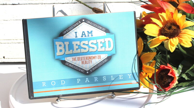 I Am Blessed DVD Set Rod Parsley New