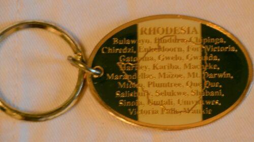 Rhodesian Key Chain