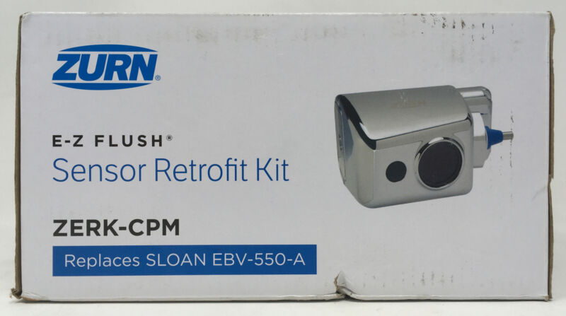 Zurn E-Z Flush Sensor Retrofit Kit Zerk-CPM Sloan EBV-550-A Automatic Flushing