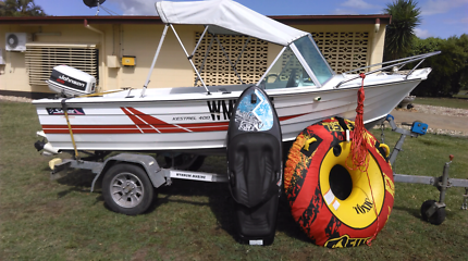 Savage Kestrel 4 metre boat