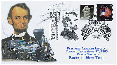 2015, PRESIDENT LINCOLN FUNERAL TRAIN ROUTE, PICTORIAL, BUFFALO NY, 15-364