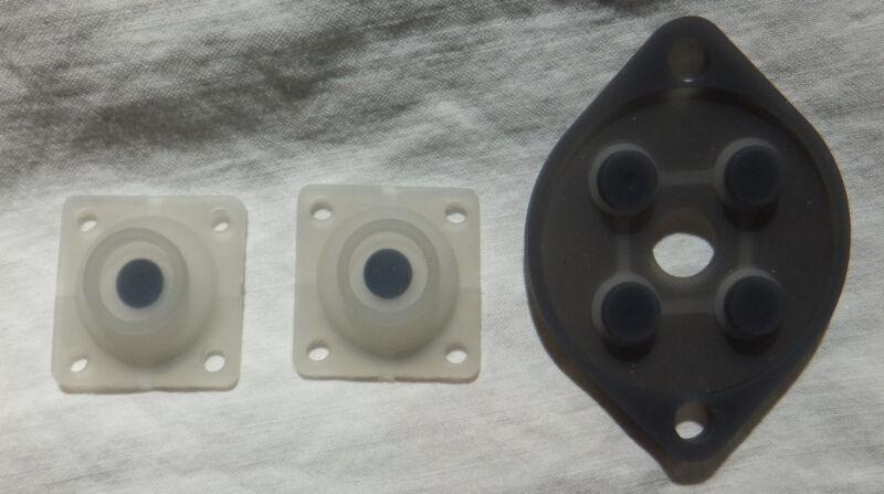 Sega Master System Controller Repair Kit [Replacement Conductive Pads] Lot of 2