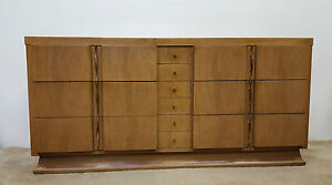 MCM American of Martinsville 10 Drawer Long Dresser (Will Ship)