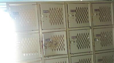Vintage Large Desota Gym Locker Steel School Locker Local Pickup Only