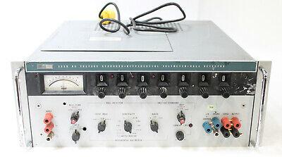 Fluke 335d Dc Voltage Standard Differential Voltmeter Null Detector