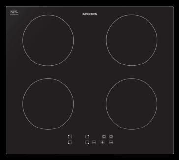Venini electric induction 60 cm cooktop