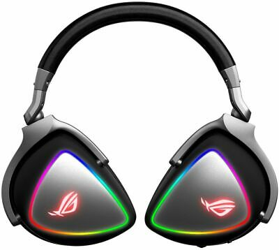 ASUS ROG DELTA RGB QUAD-DAC WIRED STEREO GAMING HEADSET W/ DETACHABLE MICROPHONE
