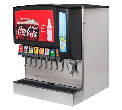 8-flavor New Old Stock Ice Beverage Soda Fountain System