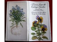 Very Rare Beautifully Illustrated 1st Edition - Flowers from the Cottage Garden