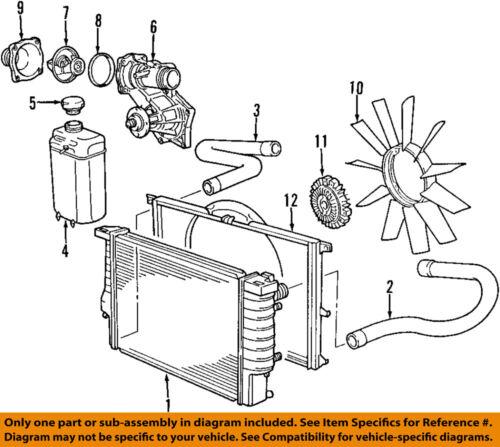 BMW    OEM 9698    740iL      Engine    Water Pump 11510393340   eBay