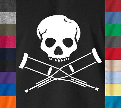 JACKASS LOGO T-Shirt Johnny Knoxville MTV Skater Steve-O - Ringspun Cotton (Knoxville Jackass)