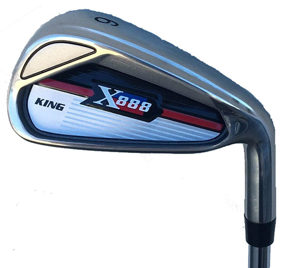 """+1"""" IRONS TALL MENS Golf Clubs 3-PW KING X888 Regular COMPLE"""