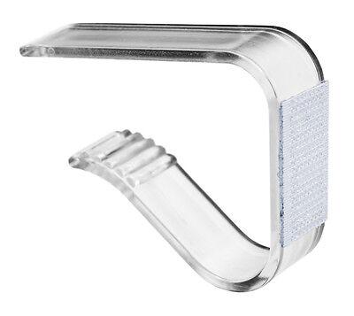 Skirting Clip 3 Tischklammer Skirtingklammer Klettverschluss 50 Stück