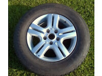 Details about x1 VW T5 Caravelle Alloy Wheel with Brand New Dunlop 235/60R16 104H 7H0 601025B
