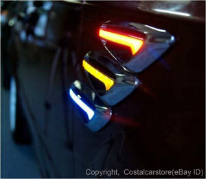 Holden-Commodore-VP-VR-VS-VT-VX-VY-VZ-Amber-LED-Side-Indicators