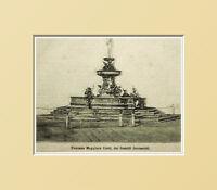 Loreto,fontana Maggiore Cetti,fratelli Jacometti Ancona.xilo In Paspartout 1894 - maggi - ebay.it