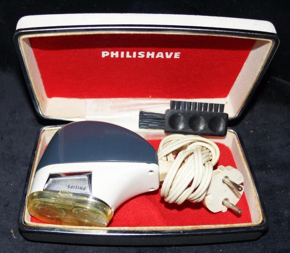 50er Jahre Rasierer Philips in der Originalverpackung (Nr. 8)