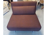 Futon Chair Lounger Single Sofa Bed, New