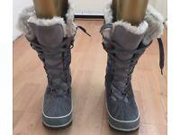 Sorel Tivoli High II Winter Boots Quarry (Grey) - Womens Size UK6 Euro 39