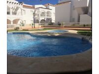 Apartment for holiday rental in Costa de Almeria Spain