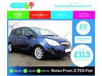 Vauxhall Meriva 1.4 i 16v SE 5dr (a/c) FINANCE AVAILABLE