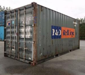 20' Shipping Container (Damaged)