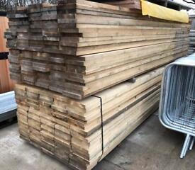 ❄️ SCAFFOLD STYLE WOODEN/ TIMBER BOARDS/PLANKS ~ NEW