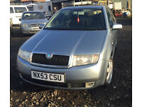 2003 FABIA 1.9 diesel elegance 5 door great runner