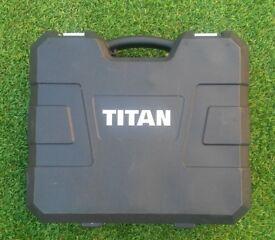 TITAN DRILL BOX USED.
