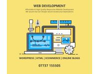 High Quality Web Design - Wordpress - Booking Websites - Online Stores - SEO - Blogs